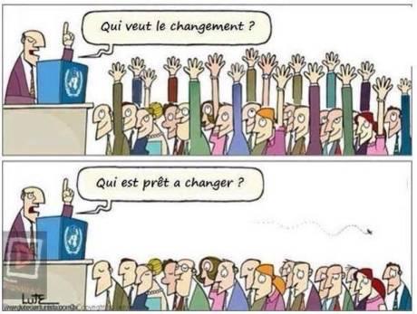 changement ou Pas de changement